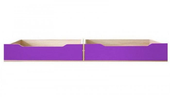 Klasická posteľ Monza - úl. priestor pod postel, CD 16 (višňa cornvall, fialová)