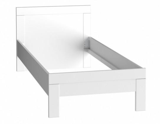 Klasická posteľ Snow SNWL09 (biela C50)