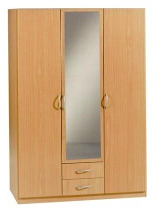 Klasická šatníková skriňa Sprint, 4x dvere
