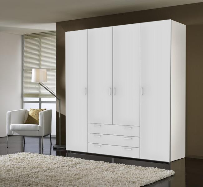 Klasická Space - 4 dvere (biela, vysoký lesk)
