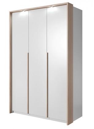 Klasická Xelo - Skriňa 140,8x215,5x65 cm biela