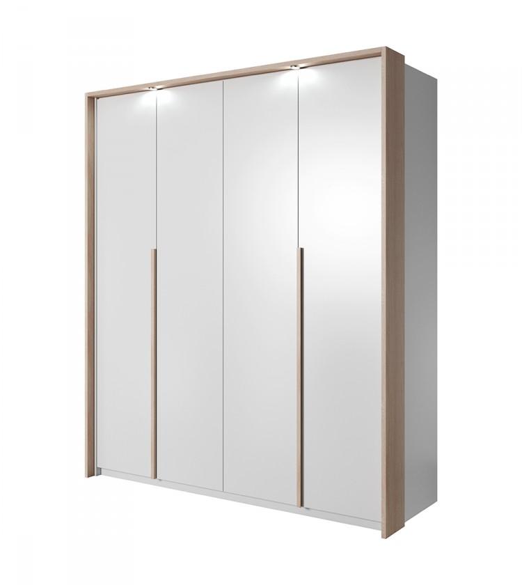 Klasická Xelo - Skriňa 185x215,5x65 cm biela