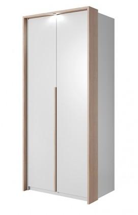 Klasická Xelo - Skriňa 96,5x215,5x65 cm biela