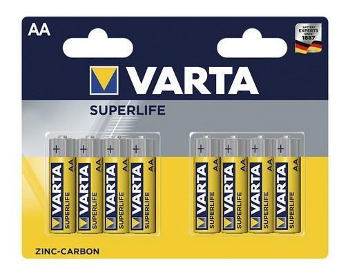 Klasické batérie Batérie Varta Superlife, AA, 8ks