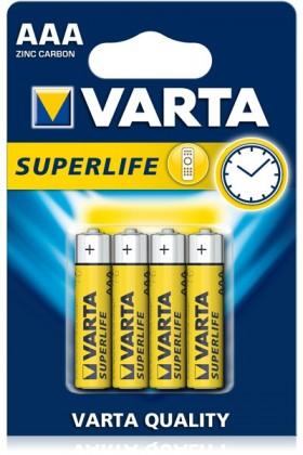 Klasické batérie Batérie VARTA Superlife AAA 4ks