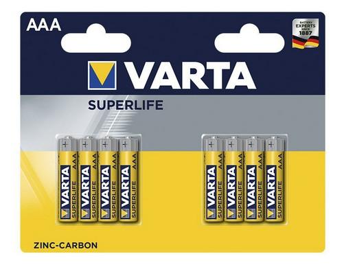 Klasické batérie Batérie Varta Superlife, AAA, 8ks