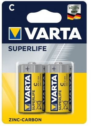Klasické batérie Baterie Varta Superlife C 2x