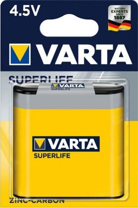 Klasické batérie Batérie Varta Superlife, plochá, 4,5V