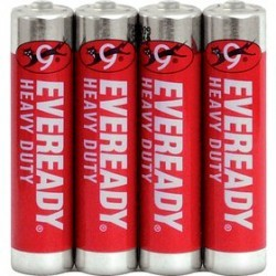 Klasické batérie ENERGIZER Tužkové batérie Eveready R03 / 4 Shrink 4xAAA