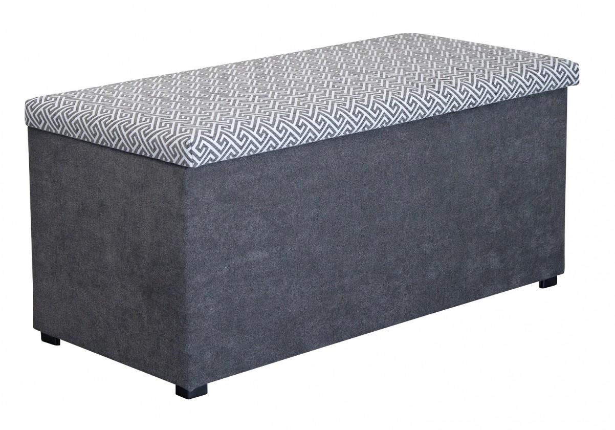 Klasické taburetky Taburet Sonia (nero/alfa stone)