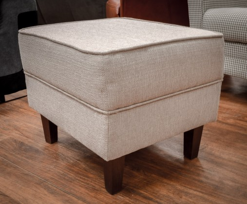 Klasické taburetky Taburetka Casis obdĺžnik krémová, hnedá