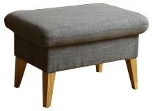 Klasické taburetky Taburetka Lotta obdĺžnik sivá