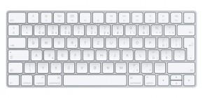 Klávesnica Apple Magic, CZ, biela