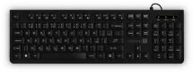 Klávesnica CONNECT IT, kancelárska, CZ + SK verzia, čierna
