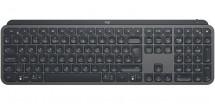 Klávesnica Logitech MX Keys Advanced, bezdrôtová, šedá