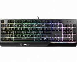 Klávesnica MSI Vigor GK30, herná, RGB podsv., CS/SK, čierna