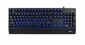 Klávesnice C-TECH Cadmus (GKB-14B),USB,3 barvy podsvícení,černá