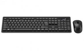 Klávesnice s myší Genius Slimstar 8005, CZ+SK(31340006110) černá