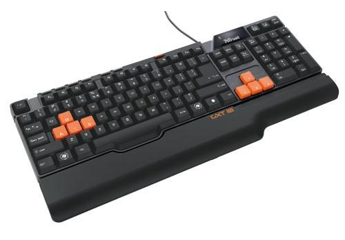 Klávesnice  Trust GXT 18 Gaming Keyboard CZ
