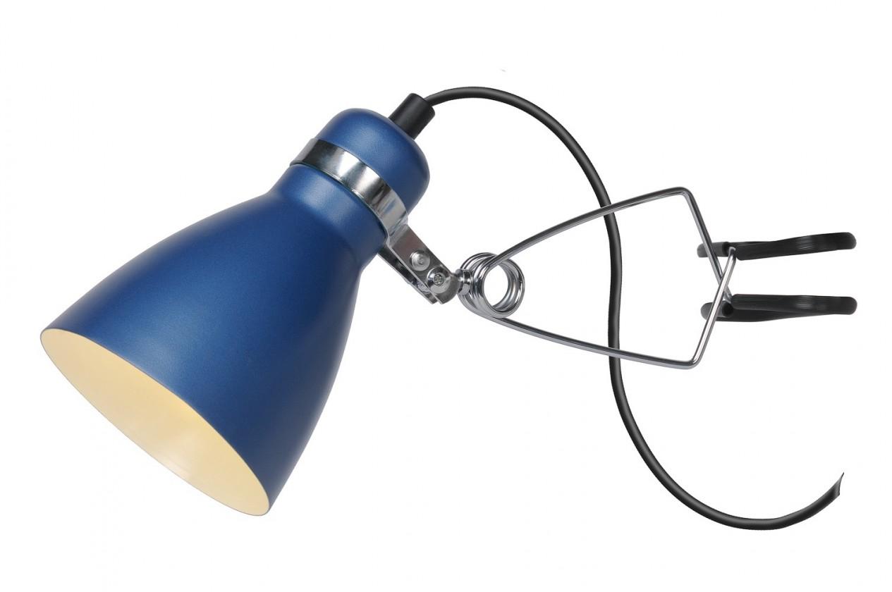 Klippy - stropné osvetlenie, 9W, E14 (modrá)