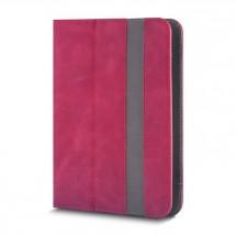 """Knižná puzdro Fantasia na tablet 7-8"""", červená koža POŠKODENÝ OBA"""