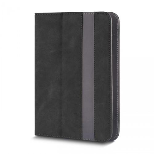 """Knižná puzdro Fantasia na tablet 7-8"""", čierna koža"""