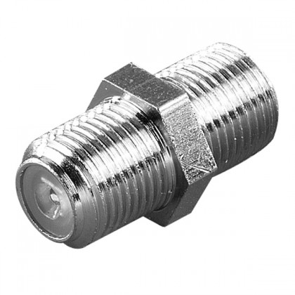 Koaxiální kabely, konektory F/F spojka Vivanco 44009