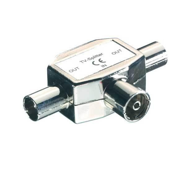 Koaxiálny kábel, konektor  Vivanco V30216
