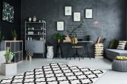 Koberec Black & white (80x150 cm, biela)