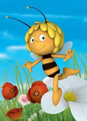Koberec - Disney Maya - 01 Maya Busy Bee, 95x133 cm (žltá)