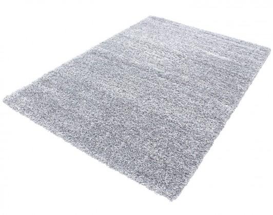Koberec - Life shaggy 1500, 60x110 cm (svetlo sivá)