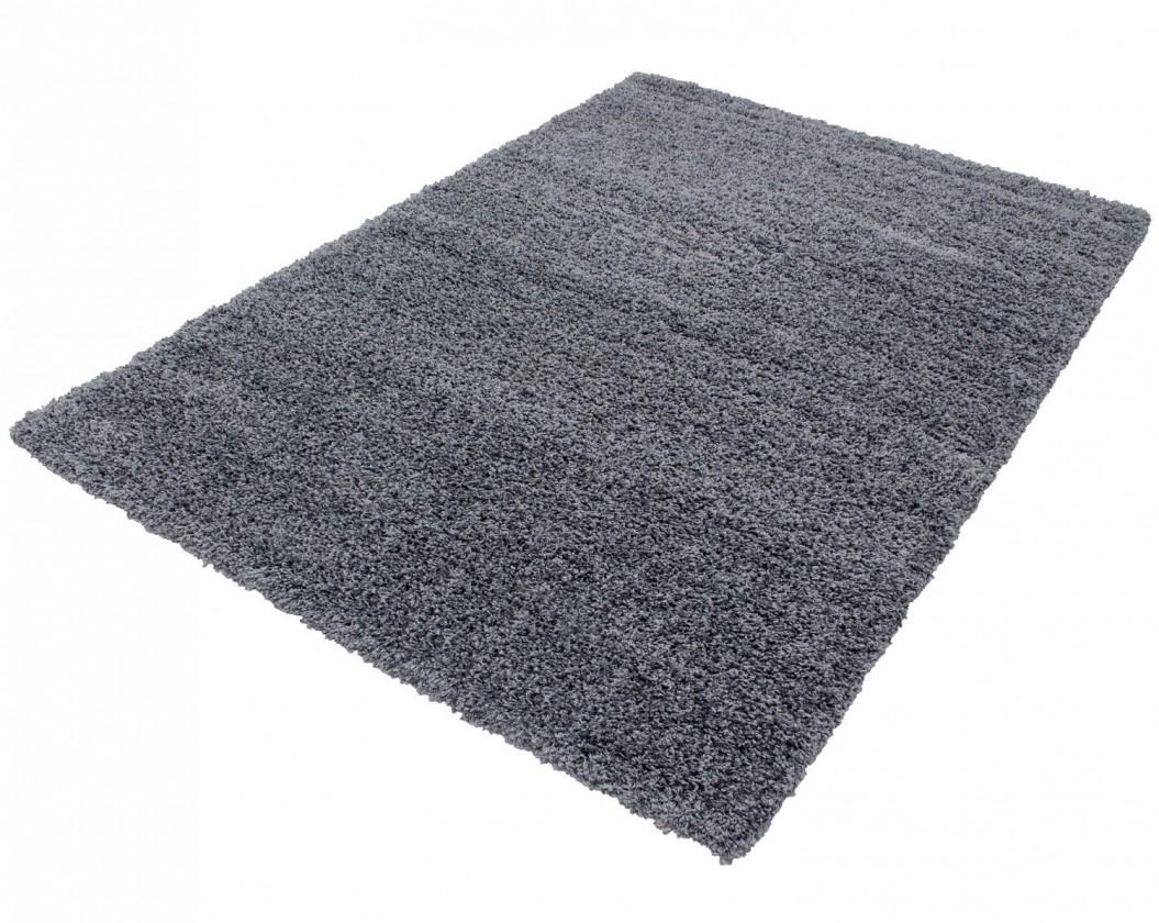 Koberec - Life shaggy 1500, 80x250 cm (sivá)
