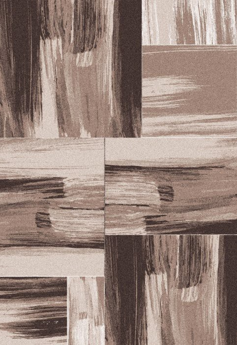 Koberec - Lima 1350, 200x290 cm (hnedá)