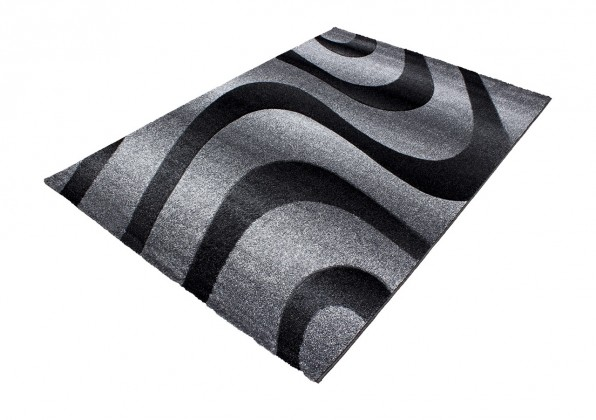 Koberec - Oslo 4230, 160x230 cm (čierna)