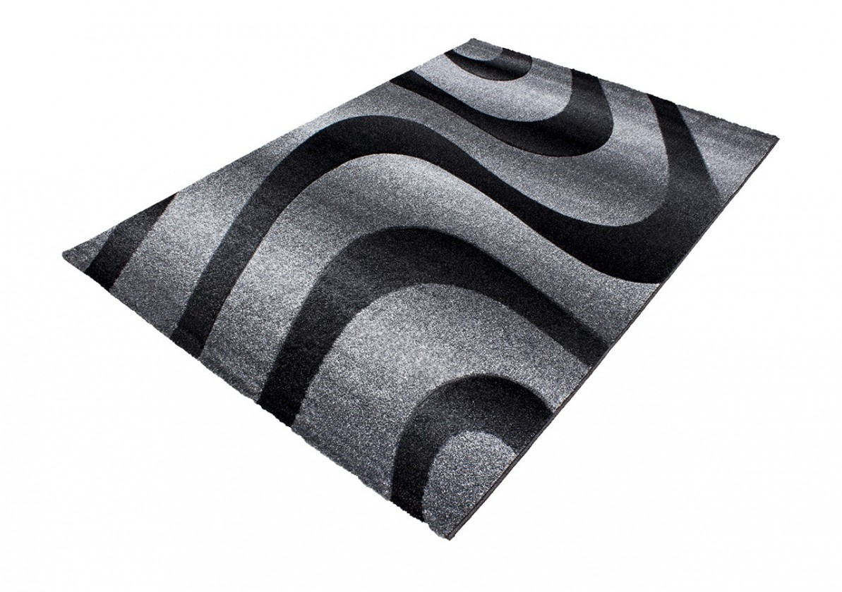 Koberec - Oslo 4230, 200x290 cm (čierna)