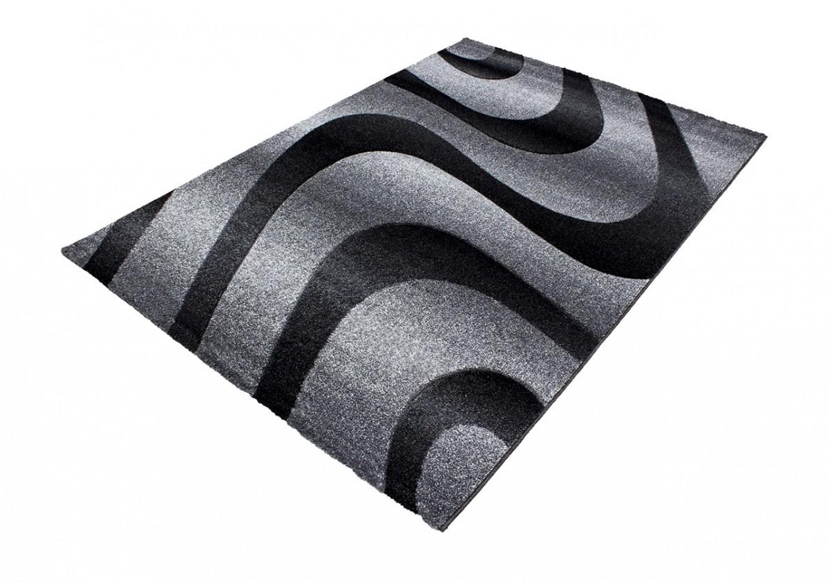 Koberec - Oslo 4230, 80x300 cm (čierna)