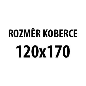 Koberec - Parma 9220, 120x170 cm (sivočierna)