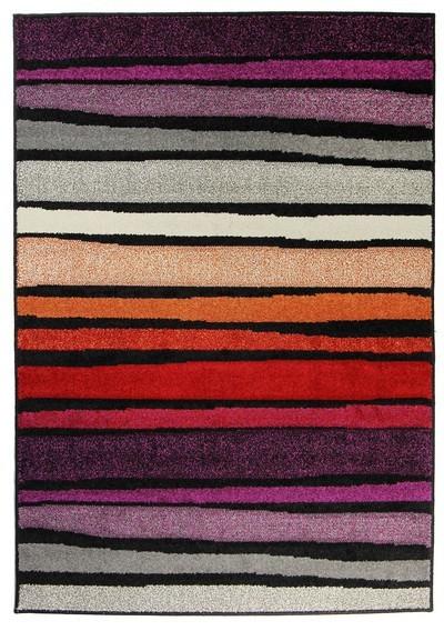 Koberec - Portland 3064 AL1 Z, 120x170 cm (sivočervenofialová)