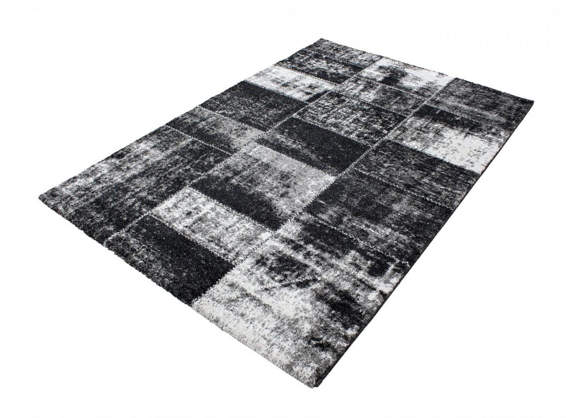 Koberec - Riva 3240, 80x150 cm (čierna)
