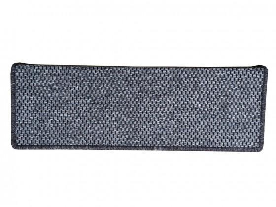 Koberec schodový nášľap Nature obdélník 24x65 cm (hnedý)