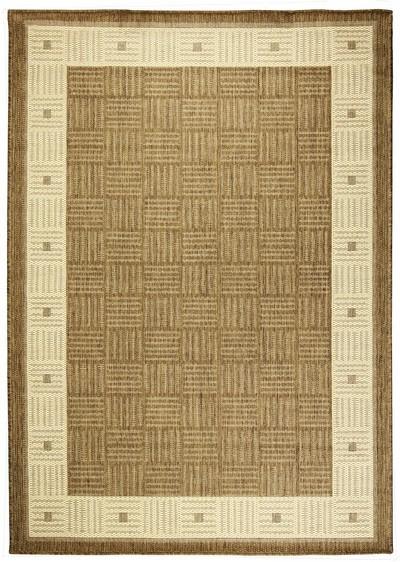 Koberec - Sisalo 879 J84 N, 67x120 cm (béžovohnedá)