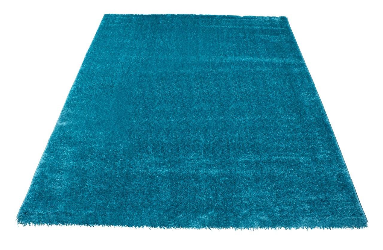 Koberec - Soft Shaggy 1900, 120x170 cm (modrá, zelená)