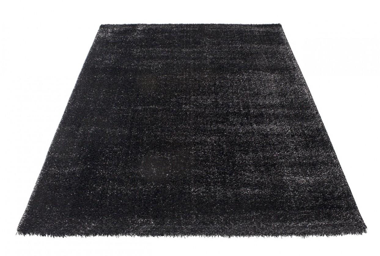 Koberec - Soft Shaggy 1900, 80x150 cm (čierna)