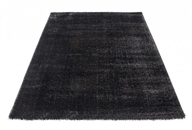 Koberec - Soft Shaggy 1900, 80x300 cm (čierna)