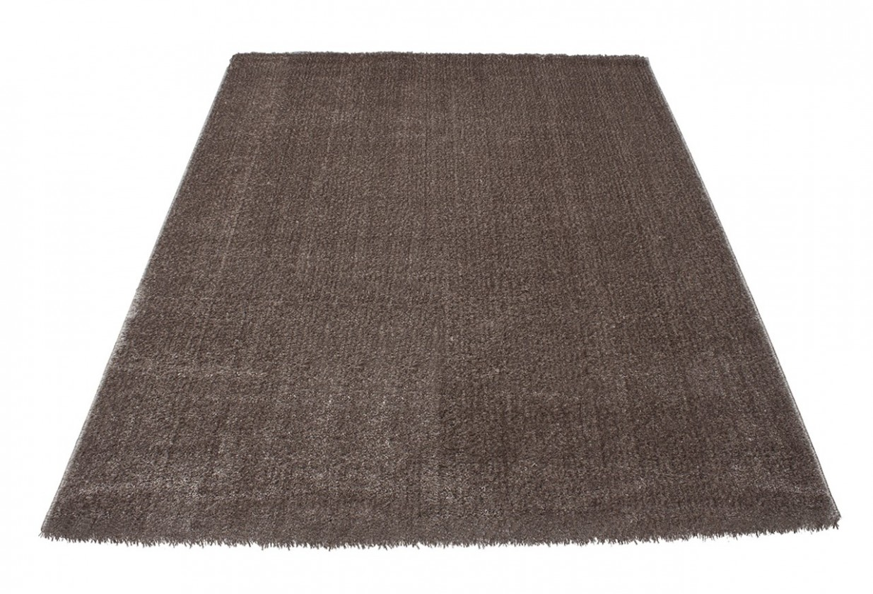 Koberec - Soft Shaggy 1900, 80x300 cm (hnedá)