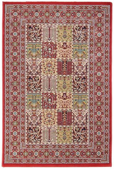 Koberec - Tashkent 481R, 160x235 cm (červená klasika)