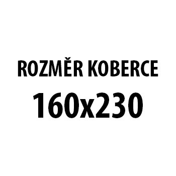 Koberec - Toscana 3130, 160x230 cm (sivočierna)