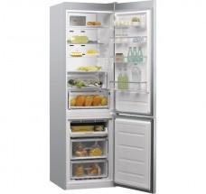 Kombi. chladnička s mrazničkou dole Whirlpool W993 MIERNA VADA VZ