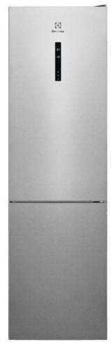 Kombin.chladnička s mrazničkou dole Electrolux LNT7ME34X2,A++