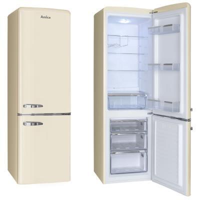 Kombinovaná chladnička Amica KGCR 387100 B, A++